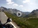 Col du Galibier - vom Col du Lautaret nach Les Verneys
