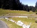 Col du Marchairuz von Le Brassus nach Biere, Waadt, Schweiz
