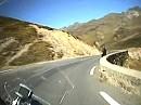 Col du Tourmalet (F-Pyrenäen) Abfahrt Westrampe mit BMW R1200 GS