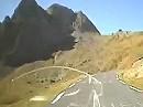 Col du Tourmalet (F-Pyrenäen) Auffahrt Ostrampe mit BMW R1200 GS