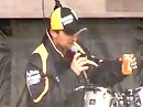 Colin Edwards, Texas Tornado, on Stage Silverstone - die coolste Sau im Zirkus
