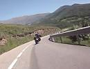 Coll de la Creu de Perves (N 260), Katalonien, Spanien Pyrenäen Motorradtour