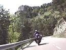 Coll de Merolla Motorradreise GI 402 Richtung Ripoll, Pyrenäen, Katalonien, Spanien