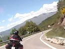 Coll del Canto (N 260) nach Sort. Ca. 40 km Motorradtour Pyrenäen mit genialen Kurven