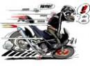 Motorrädern in Comis
