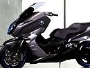 BMW Concept C Motorroller Konzept von BMW Mixtur zwischen Scooter und Motorrad