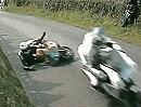 Cookstown 100 Roadracing Crash. Schutzengel macht Überstunden. Unglaubliches Glück