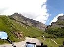 Cormet du Roselend Motorradreise französische Alpen, Savoie