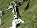 Crash beim Hillclimb - Erst mühsam rauf, dann blitzschnell runter