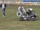"""Crash: BMW S1000RR am Adenauer Forst """"eingesaut"""""""