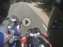 Crash Ducati vs. Honda: Wir lernen: Rechts überholen geht schief