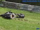 Crash Eck Adenauer Forst. Nürburgring Nordschleife am 05.06.2016