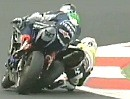Crash Eugene Laverty vs Andrew Pitt - DA war definitiv KEIN Platz mehr