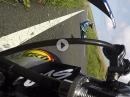 Crash Ian Hutchinson beim SeniorTT Race der Isle of Man TT2017