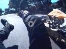 Crash: Im Kreisverkehr von hinten abgeräumt = machtlos :-(