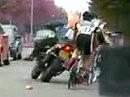 Crash Kameramotorrad - man fährt immer dahin wo man hinschaut