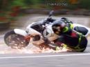 """Crash Kawasaki Z1000 vom Seitenständer """"ausgehebelt"""""""