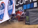 Crash Ken Roczen in Atlanta Monster Energy AMA Supercross