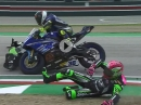 Crash Mahias, Cluzel, Gradinger Supersport (SSP) Imola 2019