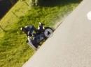 Crash mit Honda CBR 600 - Anfängerfehler, Fahrer ok