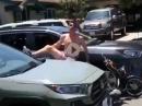 Crash Mofa Stuntrider - Sprung und Einschlag - Zuviel Leistung!!!