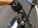 Crash nach bösem Lenkerschlagen: Yamaha FZ-07 keilt übel aus :-(