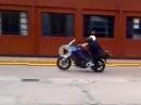 """Crash """"Polizei Motorrad Artisten"""" - Da besteht reichlich Nachholbedarf"""