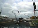 Crash Regel: Wenn's Motorrad langsam rollt, haut's dich hin, meist ungewollt!