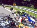 Crash Suzuki GSX-R - verschätzt, gebremst und ab... by Alex23