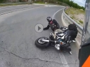 Crash Yamaha MT-01 - Im Kreisel den Gebrauchtwert gesenkt