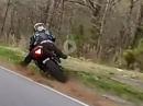Crash: Yamaha R1 Kurve ausgegangen weil Schiß?!