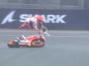 Crashes Marc Marquez - Verpasste Chance beim FrenchGP