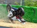Crashing in Hockenheim 2013