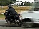 Crashproof Motorrad Sicherheitssystem: Schwarzer Humor? Fake?