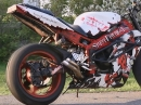 Crazy - Burnout geiles Motorrad :-)