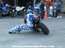 Crazy in Seattle Motorcycles Stunts Tricks and Crashes
