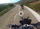 Creu de Perves, Pyrenäen mit BMW R1200 GS