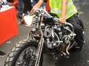 Custombike: Great Work! 5 Zylinder Sternmotor, quer eingebaut
