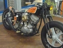 Custombike Old School Harley Davidson von Thunderbike