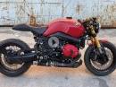 "CustomBike ""Red Razor"" BMW RnineT Umbau von K-Speed"