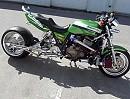 Custombike Rexzilla mit zwei M-24 Garrett Turboladern. Einmal alles was geht bitte