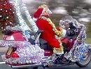 """Custombike Typ Weihnachtsmann - ein Tick """"übertrieben"""""""
