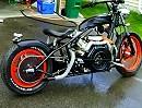 Custombike V-Twin Diesel Punsun Motorrad Eigenbau: Optik cool, Sound gewöhnungsbedürftig