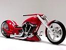 "Custumbike ""Big Red"" mit 360er Hinterrad - Hammer Eigenbau!"