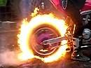 Da müssen wir nochmal bei: Feuer Burnout Vinstedt 08