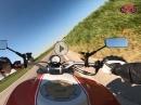 Dachauer Hinterland mit Ducati Monster und Gopro Hero 8 black