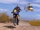Dakar 2010 - Etappe 3 - La Rioja nach Fiambala. Despres nimmt das Heft in die Hand