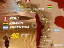 Dakar 2018 Peru, Bolivien, Argentinien - Die Route im Detail