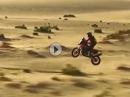 Dakar Wüsten Jumps - Fliegende Eier - Auto vs. Motorrad