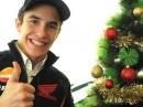 Dani Pedrosa und Marc Márquez wünschen Frohe Weihnachten